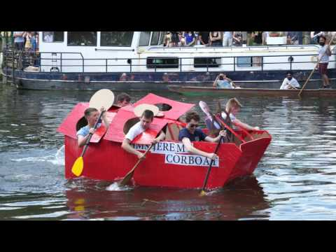 Cambridge University Cardboard Boat Race 2017