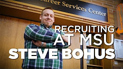 Recruiting at MSU with Steve Bohus - Auto-Owners Insurance