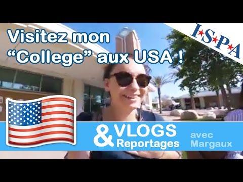 Visitez mon université aux USA - Vlog USA #5 - Margaux avec ISPA