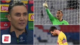 KEYLOR NAVAS explicó cómo le paró el penal a Messi y eliminó al Barcelona con PSG | Champions League