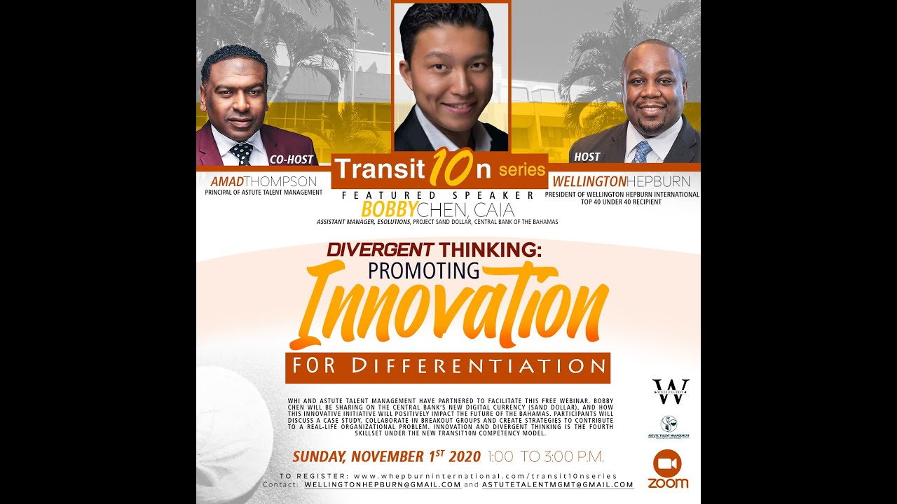WHI Transit10n Series - Divergent Thinking: Promoting Innovation For Differientation (Nov 1 2020)