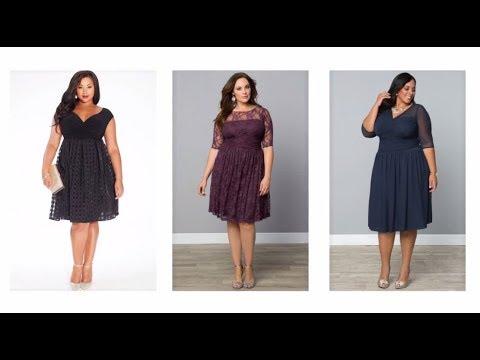 Vestidos Para Gorditas 2018 Noche Elegantes Bodas