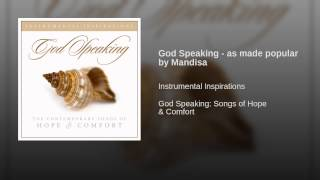 God Speaking - as made popular by Mandisa