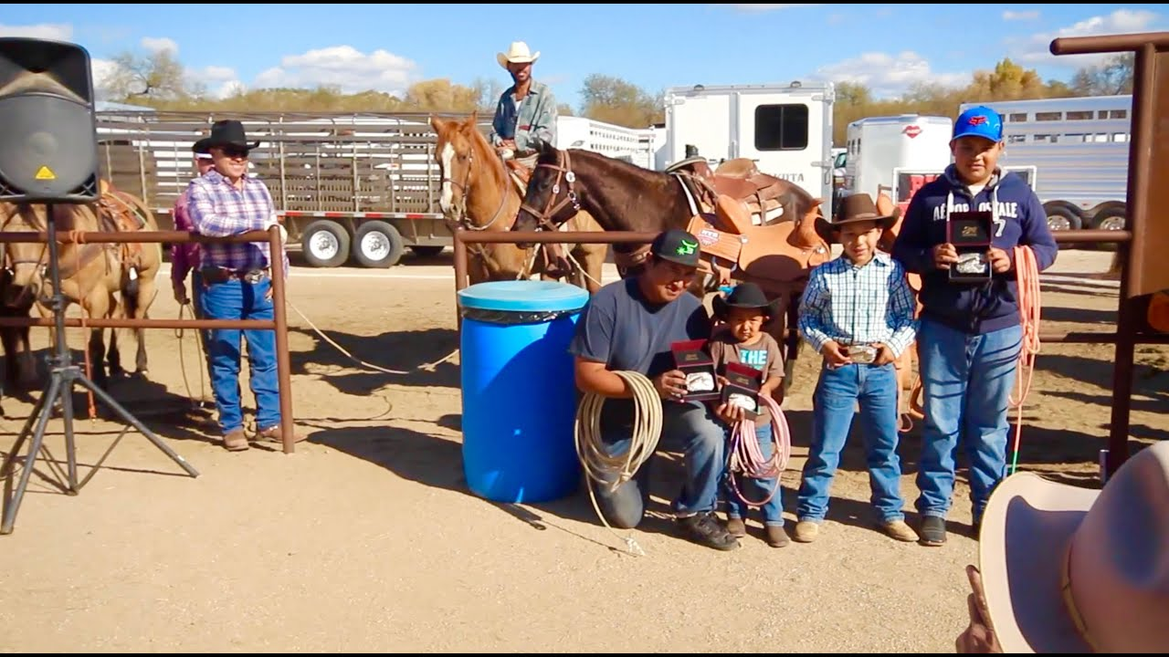 Wickenburg Az Team Roping At Rancho Rio December 20th 2015