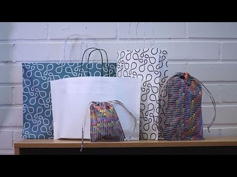 "Finland fights plastic pollution with ""green"" bags - business planet"