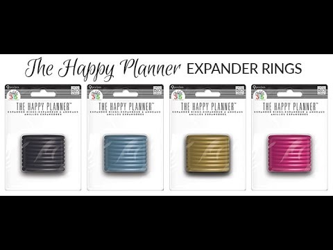 How to change rings on your happy planner