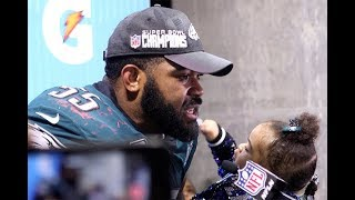 Eagles players discuss their Super Bowl LII win over the Patriots