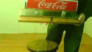 """Coca-cola (coke) """"enjoy Coca-cola"""" Light/sign"""