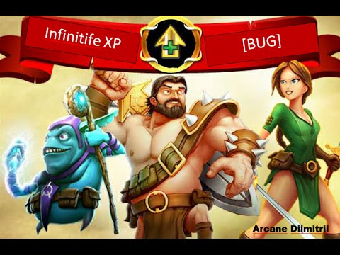 Arcane Legends - Infinitife XP [BUG]