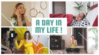 A DAY IN MY LIFE ! | Morning Skincare | Workout | How We Shoot Campaigns