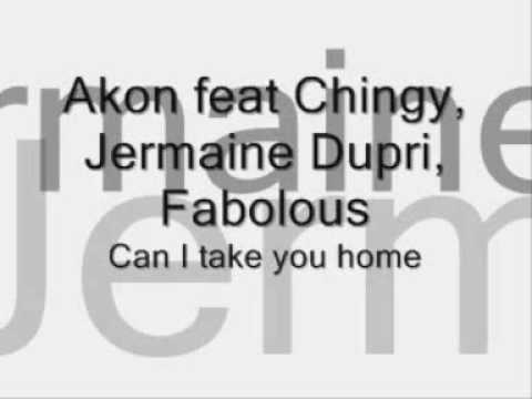 Akon ft. Chingy, Jermaine Dupri, Fabolous - Can I Take You Home