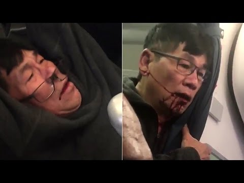 Thumbnail: United Airlines drag man off overbooked flight