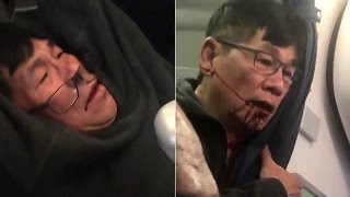United Airlines drag man off overbooked flight