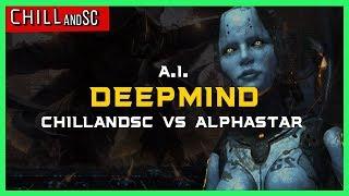 ChillandSC vs AlphaStar [ZvT] Deepmind A.I. Starcraft 2