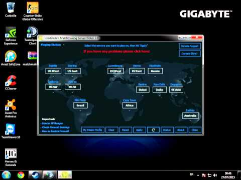 csgo region block matchmaking