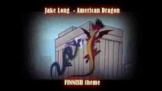 Jake Long - American Dragon FINNISH theme