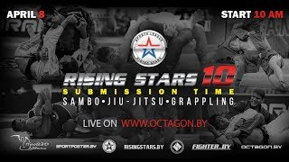 Grappling ADCC Highlights 2018 / Rising Stars 10 / Submission Time