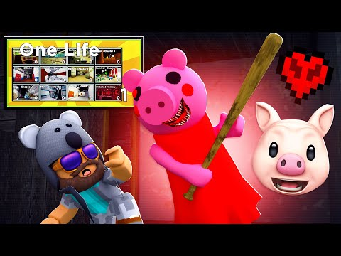 ROBLOX PIGGY - IF I DIE THE VIDEO ENDS AGAIN..