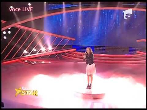 """Sanna Nielsen - """"Undo"""". Vezi cum cântă Isabella Pămpărău, la Next Star!"""