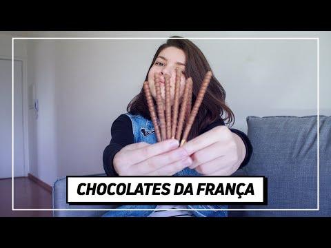 EXPERIMENTANDO CHOCOLATES/DOCES IMPORTADOS DA FRANÇA | Testa pra Mim