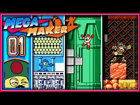 Moggy spielt den Mega Man Maker! - [Tetris] #1