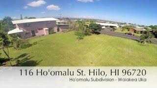 Waiakea Uka, Hilo House for Sale: 116 Hoomalu St Hilo, Hawaii 96720