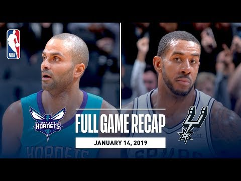 SPURSWATCH - Game Recap: Hornets vs. Spurs in Tony Parker's return to San Antonio