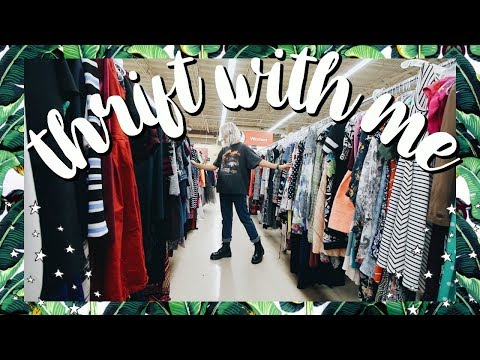 Come Thrift With Me | 50% OFF EVERYTHING THRIFT STORE SALE + BIG Collective Try On Thrift Haul