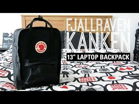 """a closer look: Fjallraven Kanken 13"""" laptop backpack   fromkaren"""