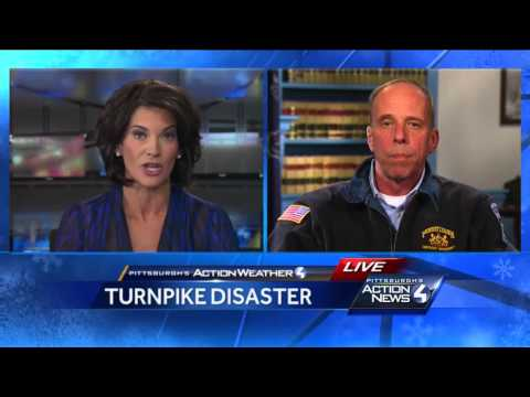 Pennsylvania Turnpike Snow Disaster: Wendy Bell goes one on one with PEMA Director