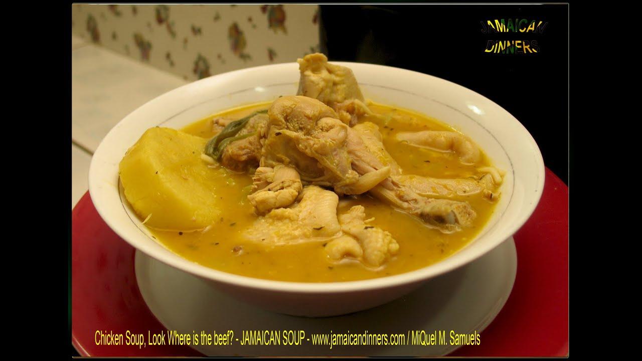 chicken soup recipe  youtube