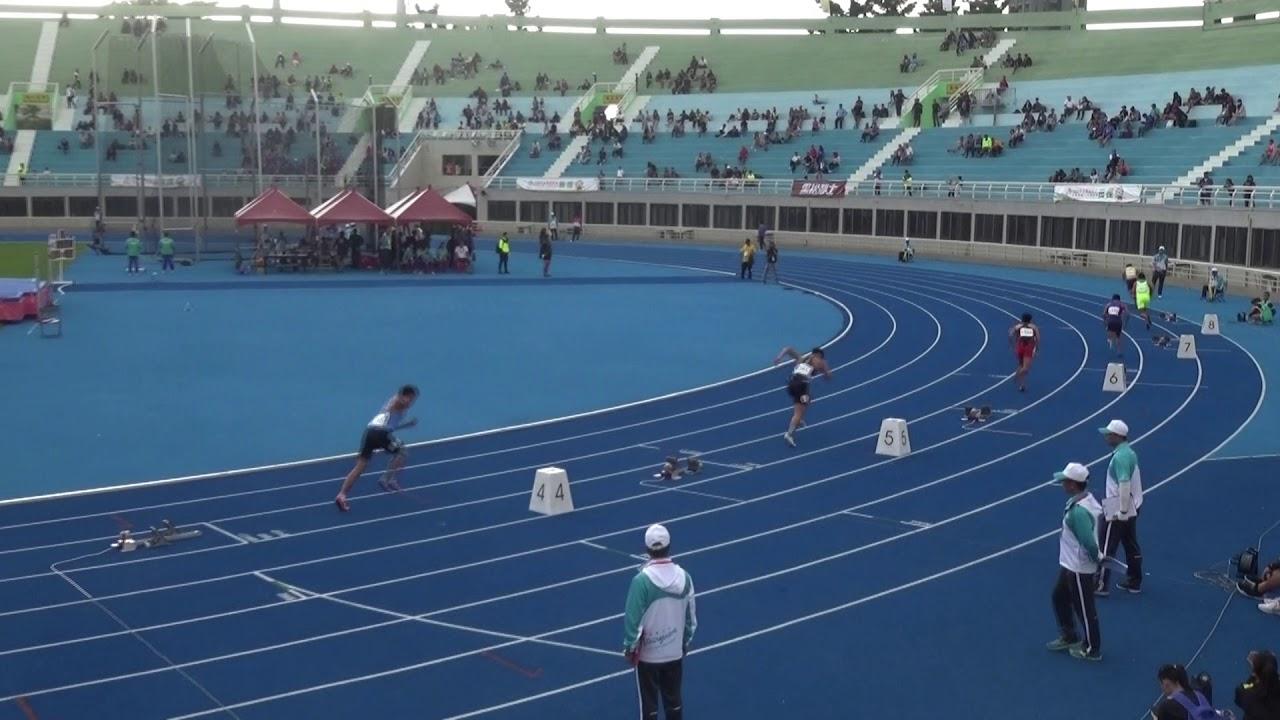 108年全國運動會 田徑 男子400公尺預賽第三組 楊隆翔47秒63 - YouTube