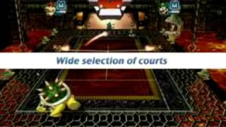 Mario Power Tennis Trailer