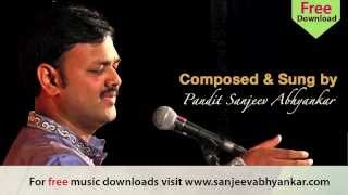 Pandit Sanjeev Abhyankar- Classical -Raag Kalawati- Tarana
