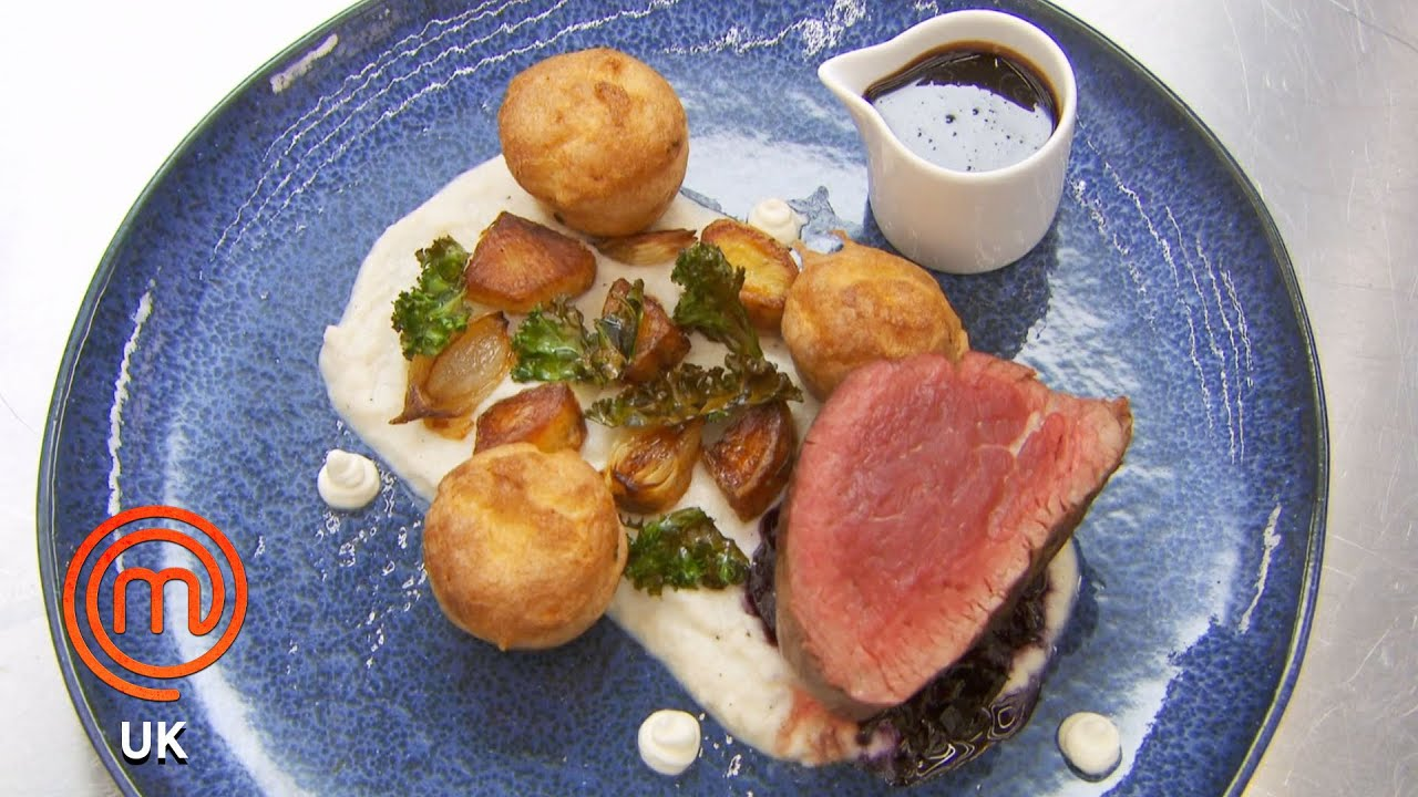 Childhood Sunday Roast Dinner | MasterChef UK | MasterChef World