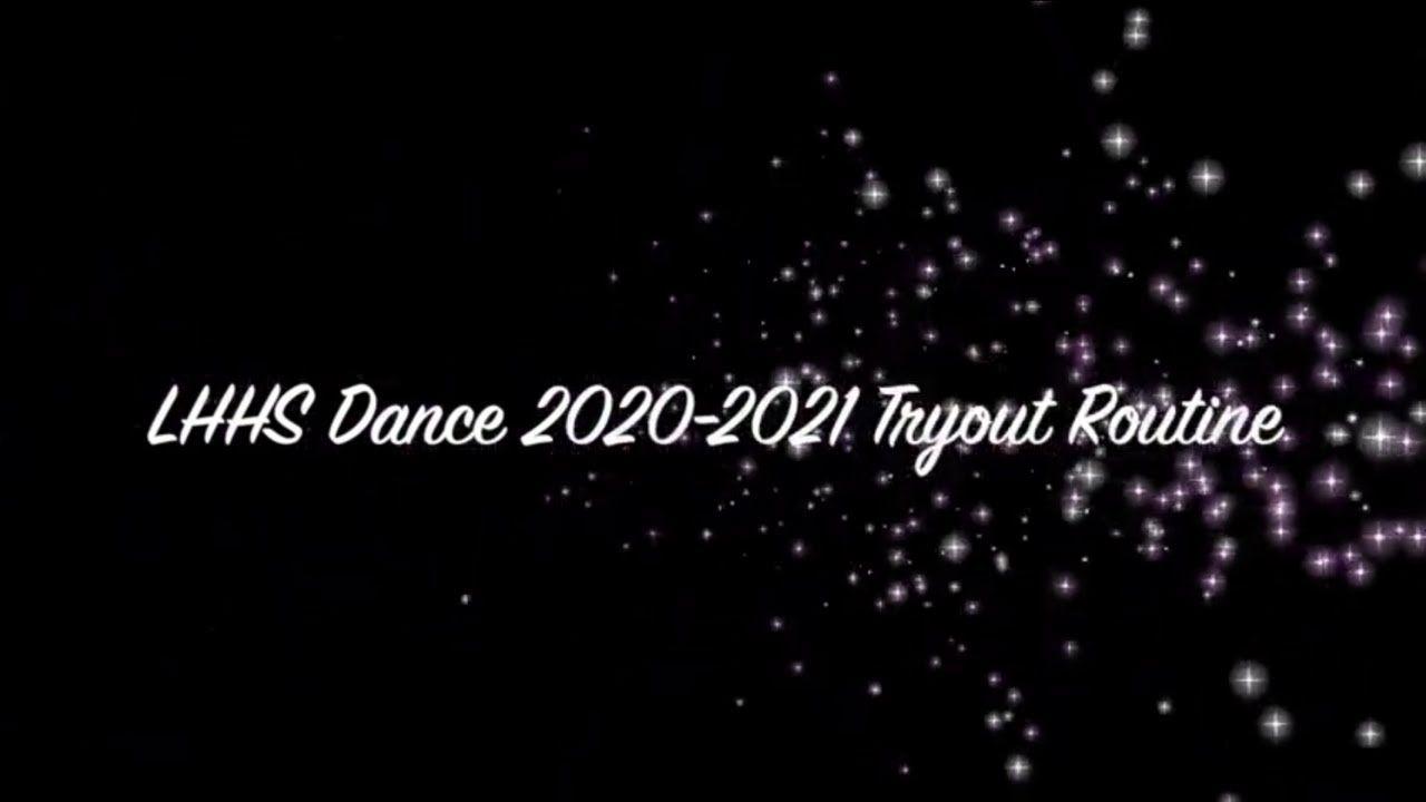 2020-2021 Tryout Dance - YouTube