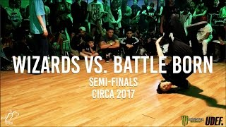 Wizards (Phil, Samson) vs. Battle Born (Keyon, Mattnish) | Semi-Finals | Circa 2017 - Pro Breaking Tour x Monster Energy | #SXSTV April 1st, 2017 - Las Vegas, ...