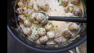 Swedish Meatballs | SAM THE COOKING GUY