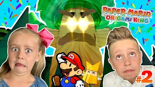 Creepy Trees!!! Paper Mario: The Origami King Part 2! KIDCITY