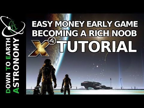 Easy Money early game | Becoming a rich noob | X4 tutorial