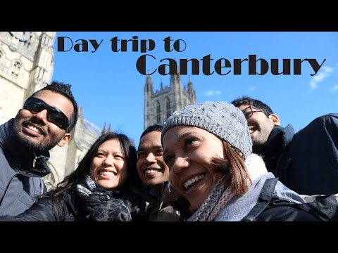 Day trip to Canterbury!