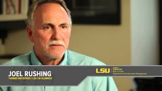 LSU Construction Management Video: 90 Second