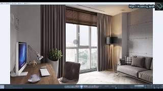 Создание интерьера с нуля 3d max + Corona Renderer (2 часть для новичков)