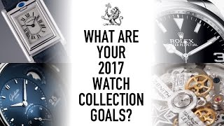 what are your watch goals 2017 what watch did i get for christmas my most worn of 2016 wwt 74