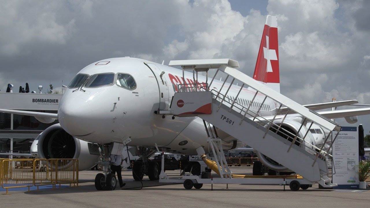 Bombardier C Series Airliner Nears Entry Into Service With