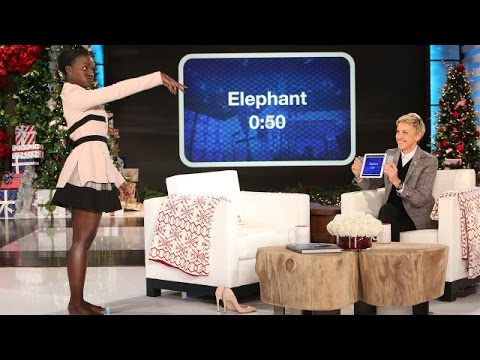 Lupita Nyong † o Plays † Heads Up! † with Ellen
