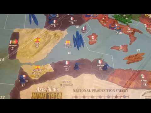 Axis and Allies 1914 The Fall Of Austria-Hungary