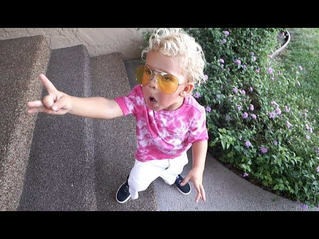 Mini Jake Paul Tydus Talbott Youtubes 4 Year Old Star Insider