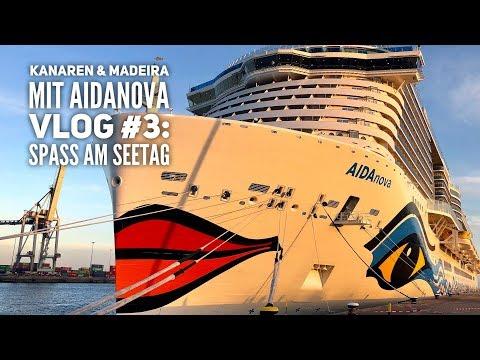AIDA Vlog #3: Kanaren & Madeira mit AIDAnova: Unser Seetag an Bord