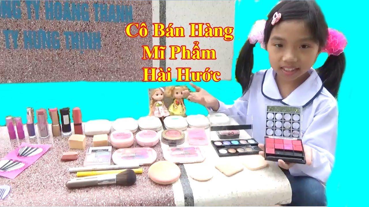 Video Hài ❤Trò Chơi Cô Bán Hàng Mĩ Phẩm Hài Hước❤ Baby channel❤